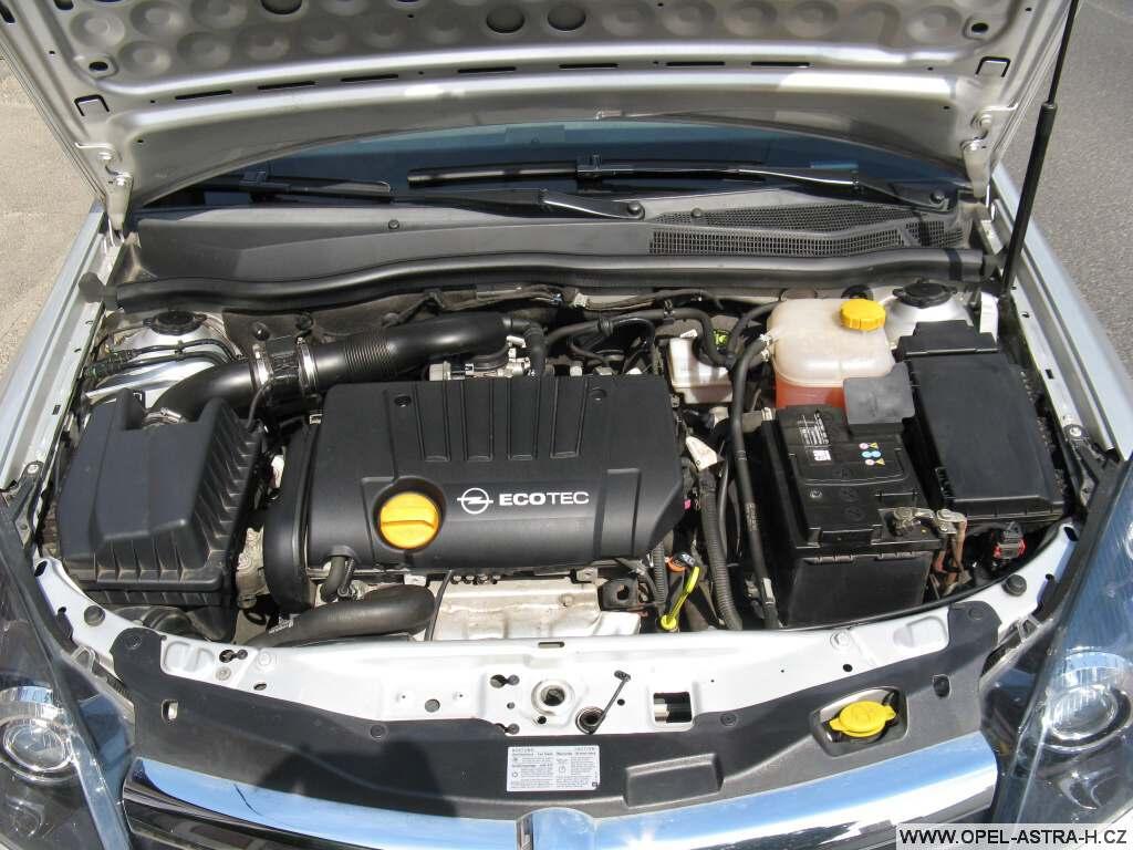 Umytý motor