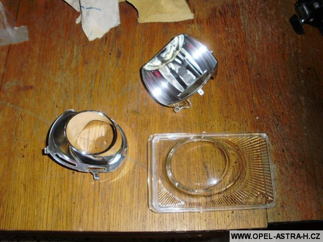 Mlhovka Astra H výměna skla