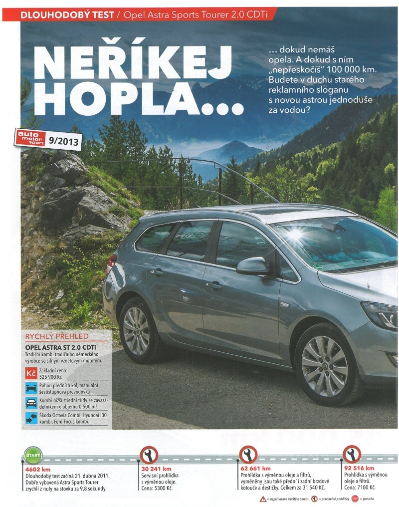 Opel Astra J test 2