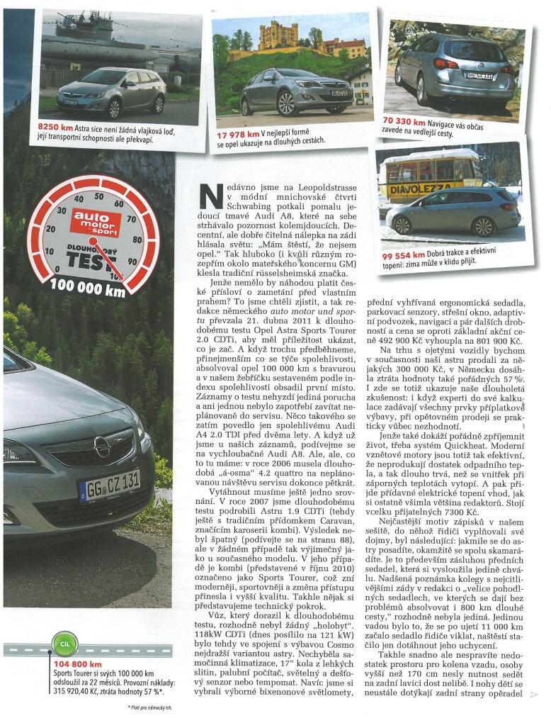 Opel Astra J test 3