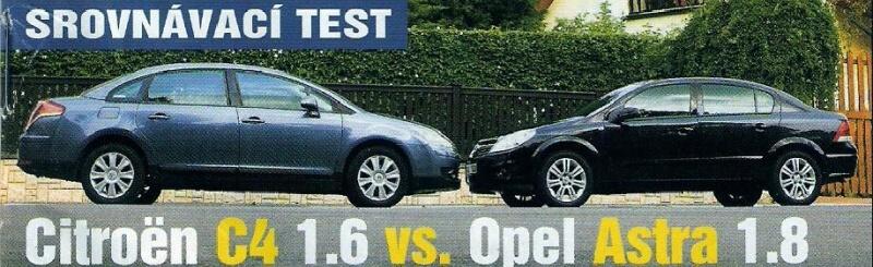 Opel Astra H vs Citroen C4