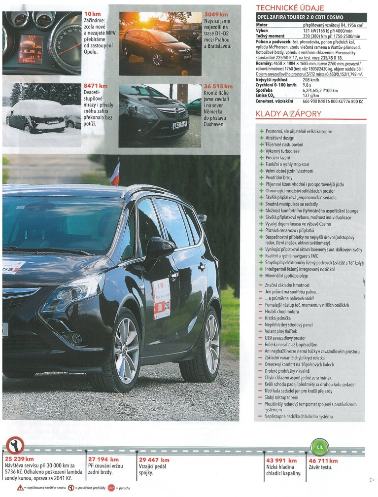 Opel Zafira Tourer test 2