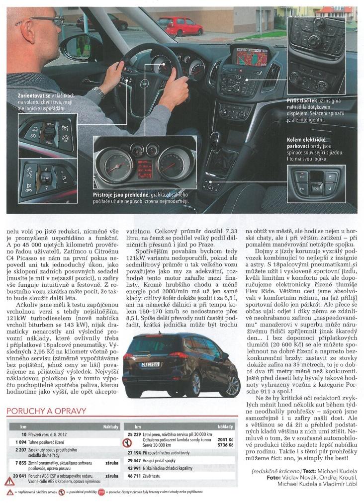 Opel Zafira Tourer test 3