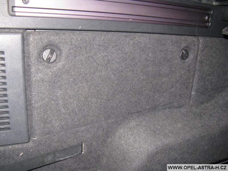 Opel Astra H pojistky