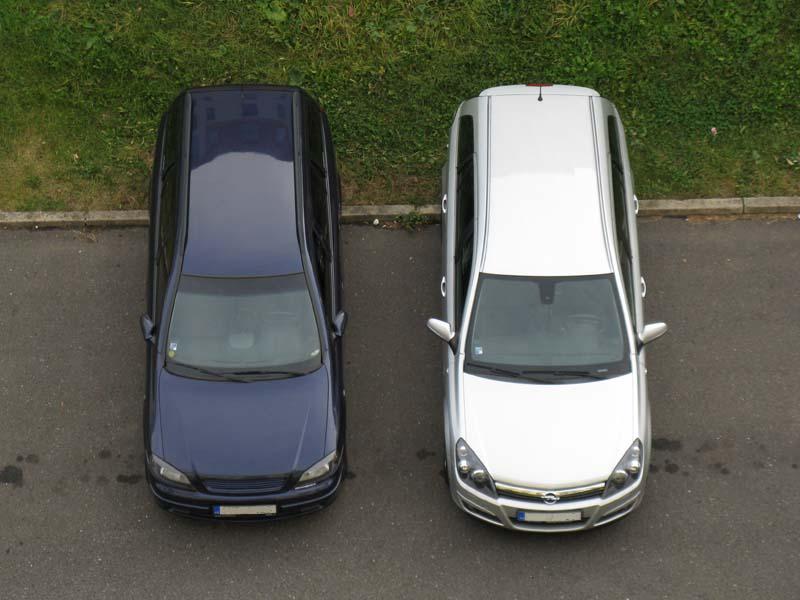 Opel Astra H vs. Opel Astra G