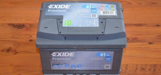 Autobaterie Exide Premium EA612 (12v, 61ah, 600a)