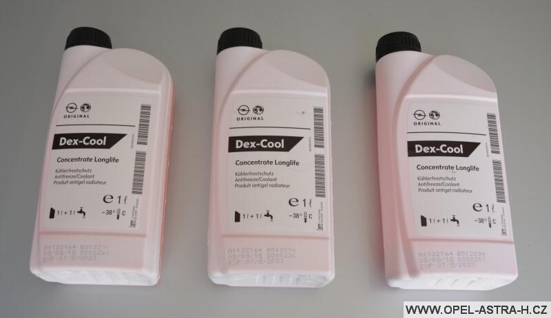 Chladící kapalina (nemrznoucí směs) Dex Cool