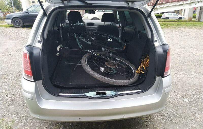 Jak složit kolo do auta