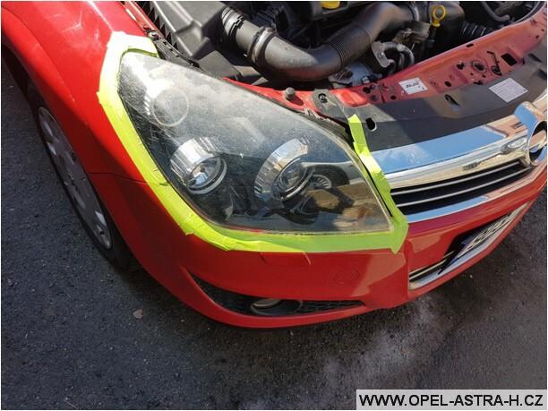 Jak vyleštit plastová světla na autě 05