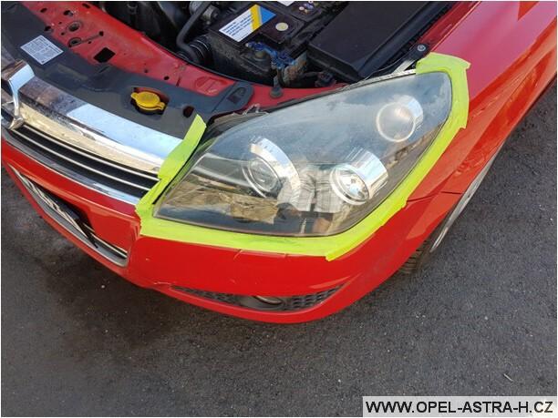 Jak vyleštit plastová světla na autě 06