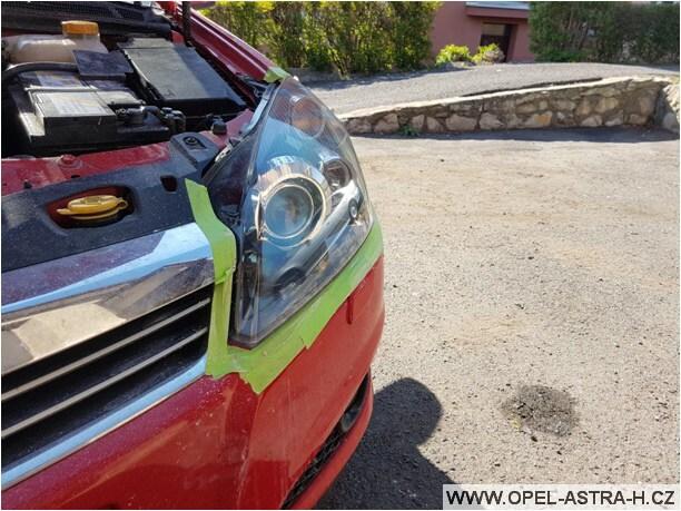 Jak vyleštit plastová světla na autě 17
