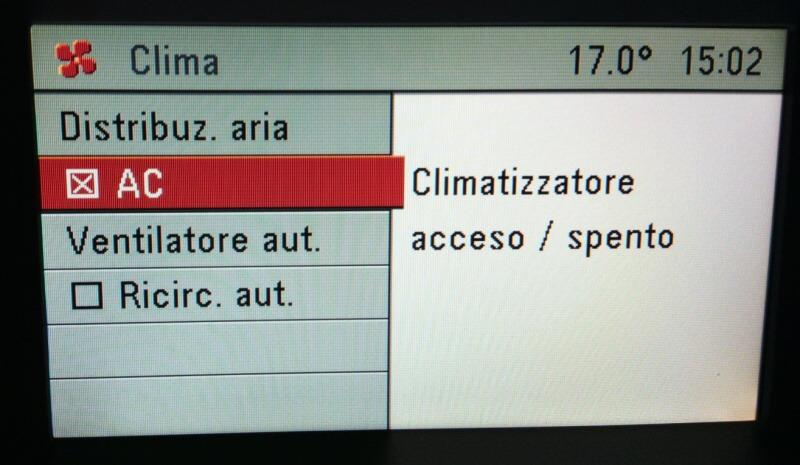 Jak zapnout klimatizaci - Opel Astra H 3