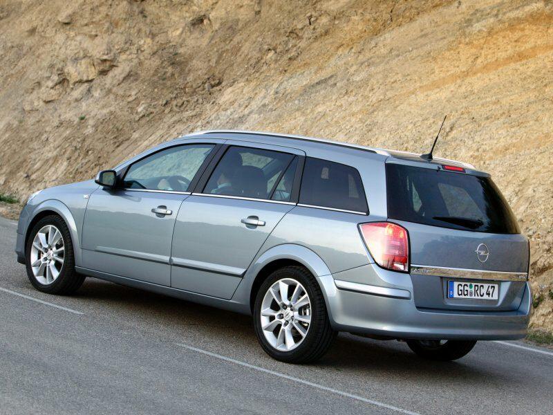 Zvýšení obsaditelnosti vozidla Opel Astra H caravan