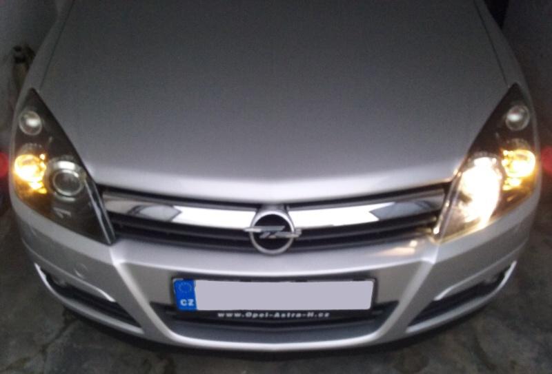Xenony pro Opel Astra H a výměna výbojky